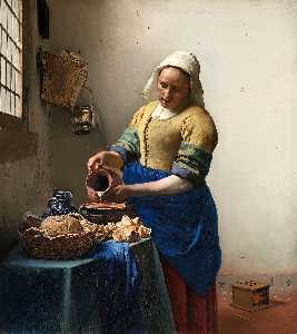 Jan Vermeer - La lattaia