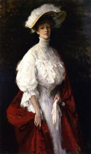 William Merritt Chase - La signorina Frances V. Earle (noto anche come Miss Earle, di Filadelfia)