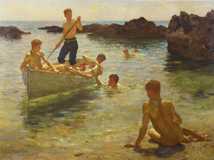 Henry Scott Tuke - Mattina splendore