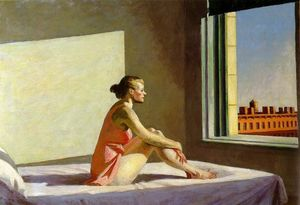 Edward Hopper - mattino sole