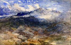 David Cox - Mountain Heights, Cader Idris