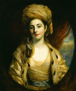 Joshua Reynolds - La signora Richard Paul Jodrell
