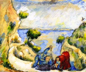 Paul Cezanne - Murder in the Ravine
