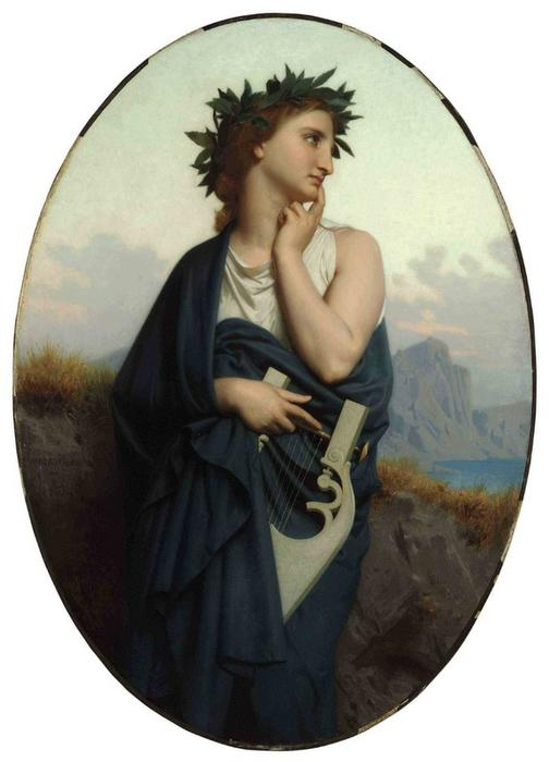 I Muse ( anche conosciuto as Philomèle ) di William Adolphe Bouguereau (1825-1905, France) | WahooArt.com