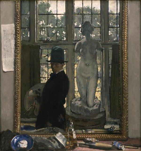 Io e Venere, 1910 di William Newenham Montague Orpen (1878-1931, Ireland)