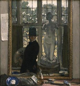 William Newenham Montague Orpen - Io e Venere