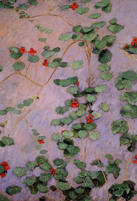 Nasturtiums, 1892 di Gustave Caillebotte (1848-1894, France) | WahooArt.com