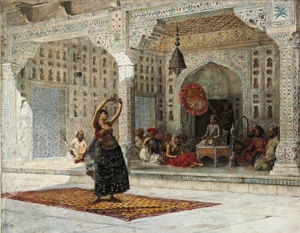 Edwin Lord Weeks - Il nautch