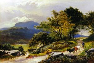 Sidney Richard Percy - Vicino Llyn Crafnant