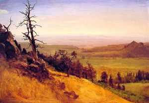 Albert Bierstadt - Nebraska Wasatch Mountains