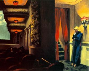 Edward Hopper - a New York cinema