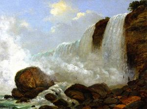 Christopher Pearse Cranch - Cascate indiano cadute