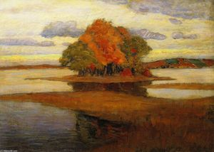 Arthur Wesley Dow - crepuscolo