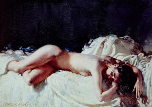 William Newenham Montague Orpen - Studio Nude