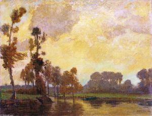 William Brymner - Ottobre, Fiume Beaudet