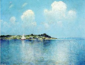 Robert Julian Onderdonk - Su Long Isola sound vicino shelter island