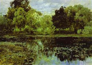 Isaak Ilyich Levitan - Overgrown Pond. Studio