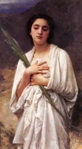 William Adolphe Bouguereau - The Palm Leaf