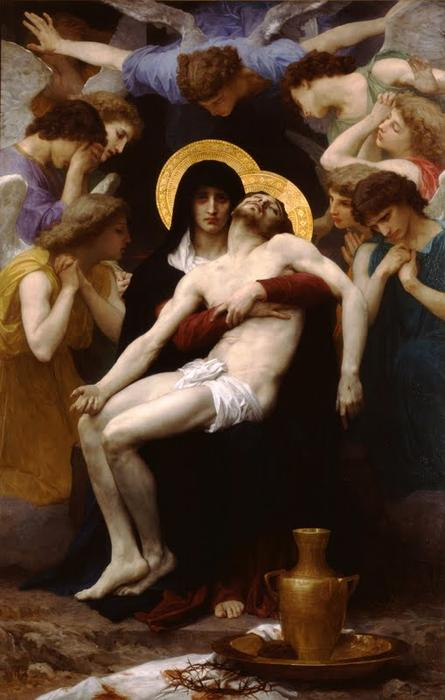 Pieta di William Adolphe Bouguereau (1825-1905, France) | Copia Pittura | WahooArt.com