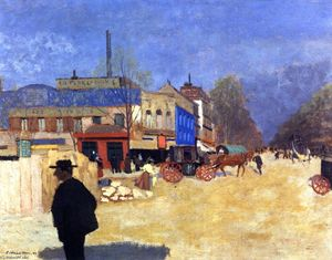 Felix Vallotton - Place Clichy