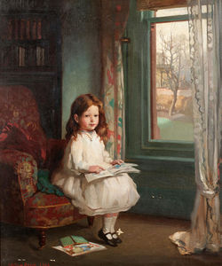 William Newenham Montague Orpen - Ritratto di Clara Hughes