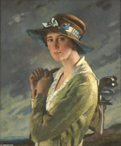 Ritratto di Dolly Stiles di William Newenham Montague Orpen  (ordinare Belle Arti giclée William Newenham Montague Orpen)