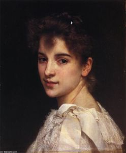 William Adolphe Bouguereau - Ritratto di Gabrielle Drienza