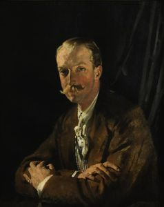 William Newenham Montague Orpen - Ritratto di Goffredo, quarto marchese di Headfort