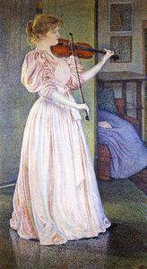 Theo Van Rysselberghe - Ritratto irma sethe