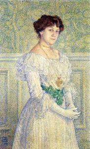 Theo Van Rysselberghe - Ritratto laure fle