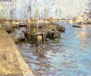Charles Webster Hawthorne - Porto di Provincetown