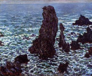 Claude Monet - La piramidi di Port Coton, Belle-Ile-en-Mer