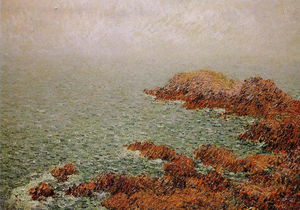 Gustave Loiseau - il rosso rocce