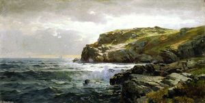 William Trost Richards - Costa Rocciosa