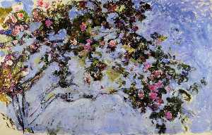 Claude Monet - The Rose Bush