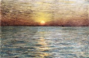 Dwight William Tryon - Il Mare Tramonto