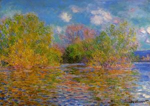 Claude Monet - la senna vicino giverny