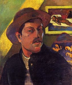 Paul Gauguin - autoritratto con cappello