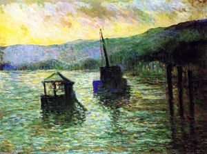 Maximilien Luce - Sevres, The Flood