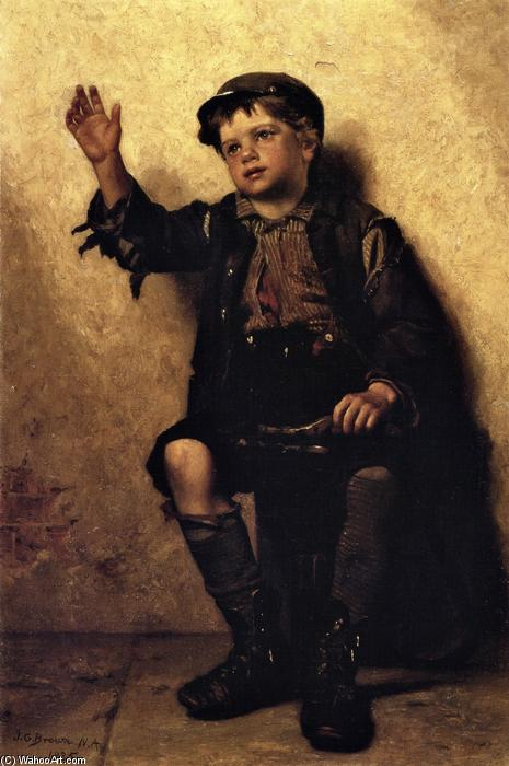 Brillare Signore?, 1885 di John George Brown (1831-1913, United Kingdom) | WahooArt.com