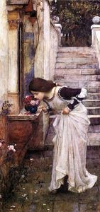 John William Waterhouse - Il Santuario