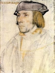 Hans Holbein The Younger - Signore Tommaso Eliot