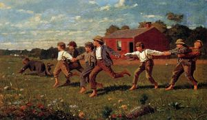 Winslow Homer - Far scattare il Whip