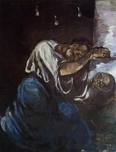 Paul Cezanne - Sorrow (noto anche come The Maddalena)