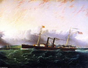 James Edward Buttersworth - Le SS Chickamauga