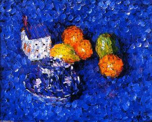 Alexej Georgewitsch Von Jawlensky - natura morta Blue-Orange