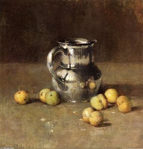 Soren Emil Carlsen - Still LIfe with Brocca and Pivar