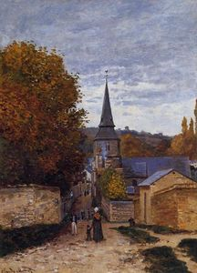 Claude Monet - Via a Saint-Adresse