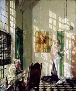 William Newenham Montague Orpen - Lo Studio