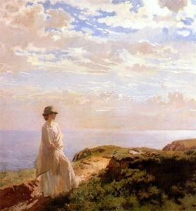 William Newenham Montague Orpen - a estate pomeriggio